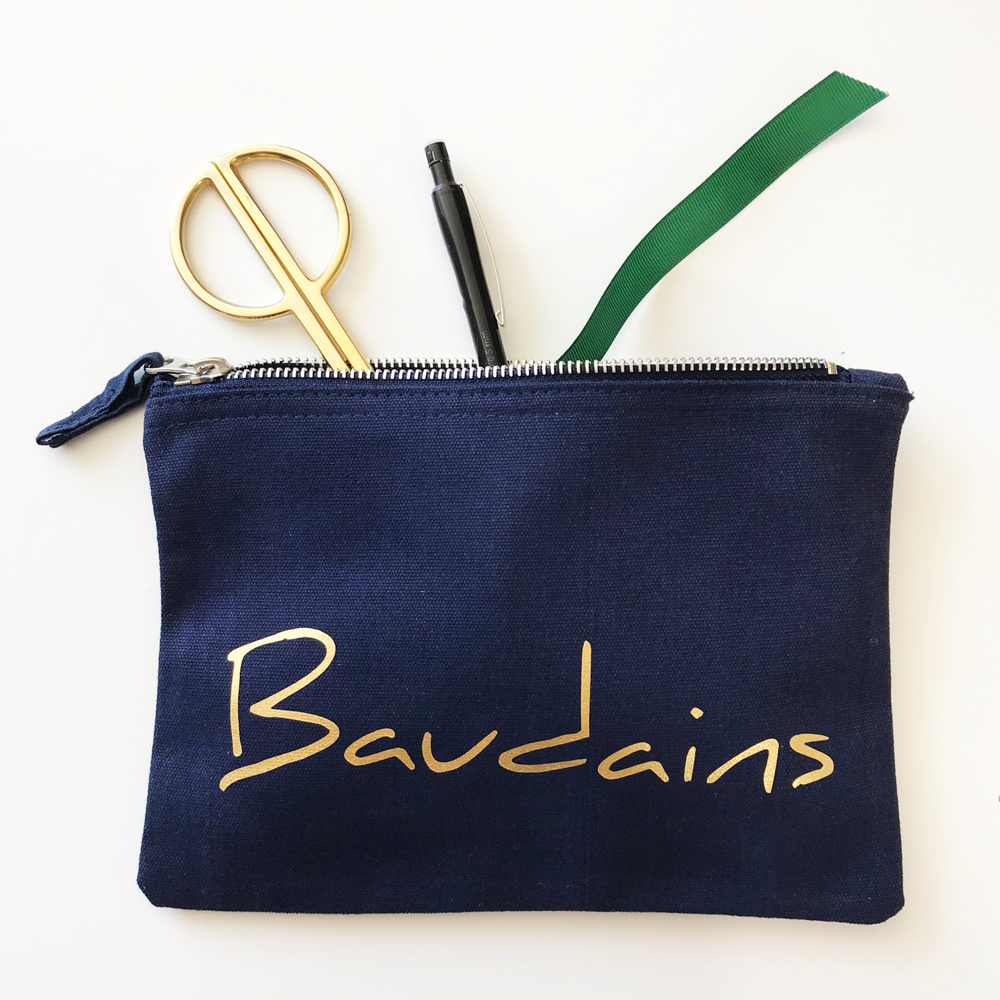 Personalised Handwritten Font Name Accessories pouch