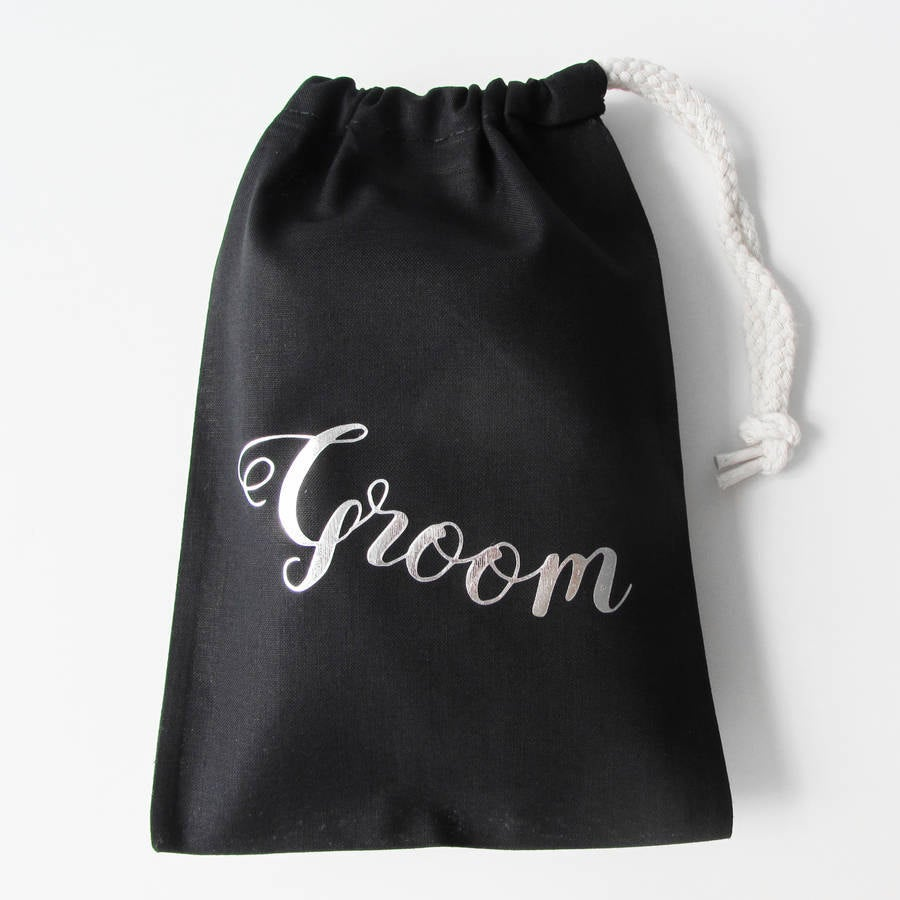 Personalised Groom's Wedding Boxer Briefs