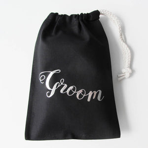 Personalised Groom's Wedding Metallic Print Boxer Briefs