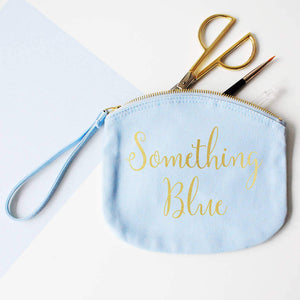Bride's Wedding 'Something Blue' Clutch Bag