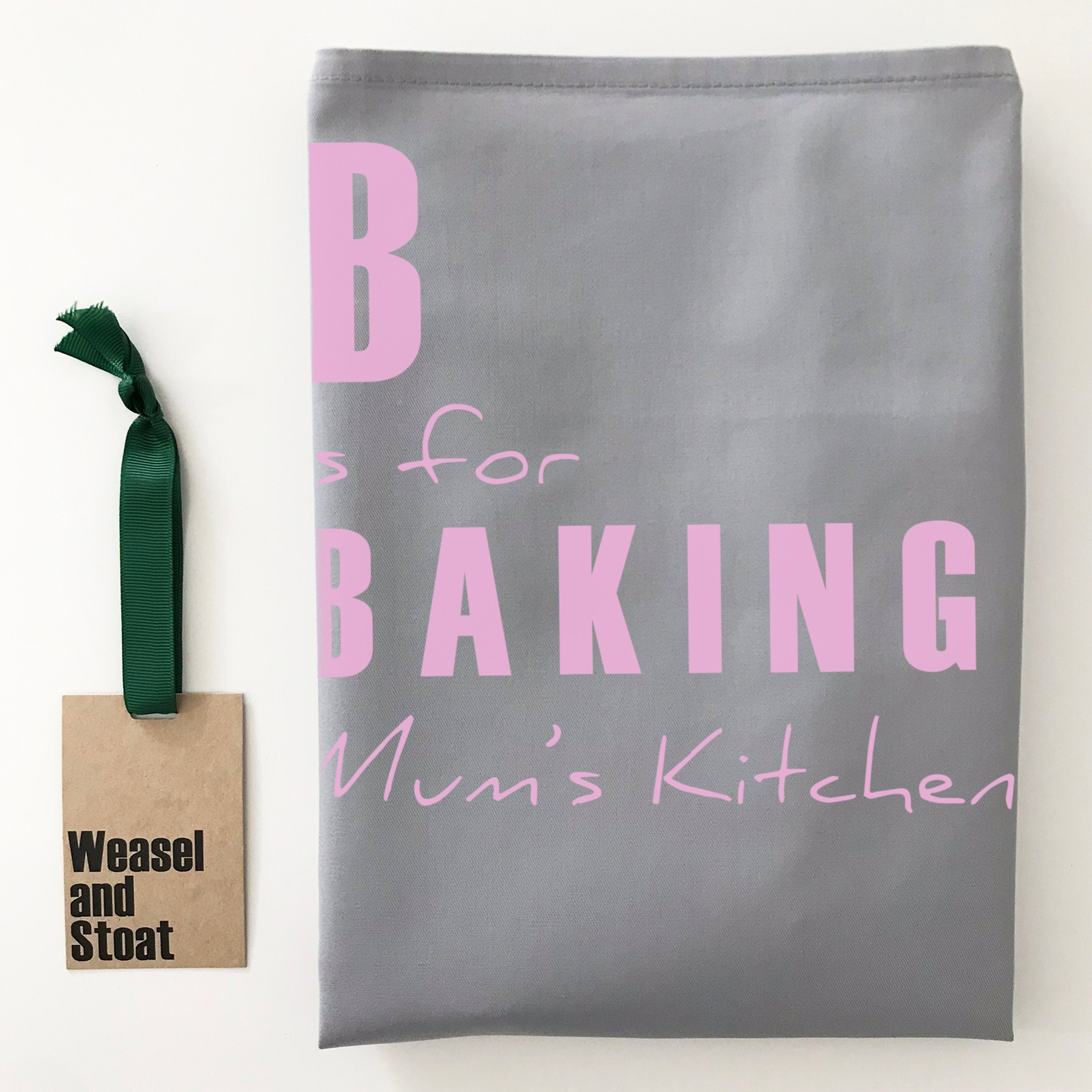 A Is For… Personalised Name Apron