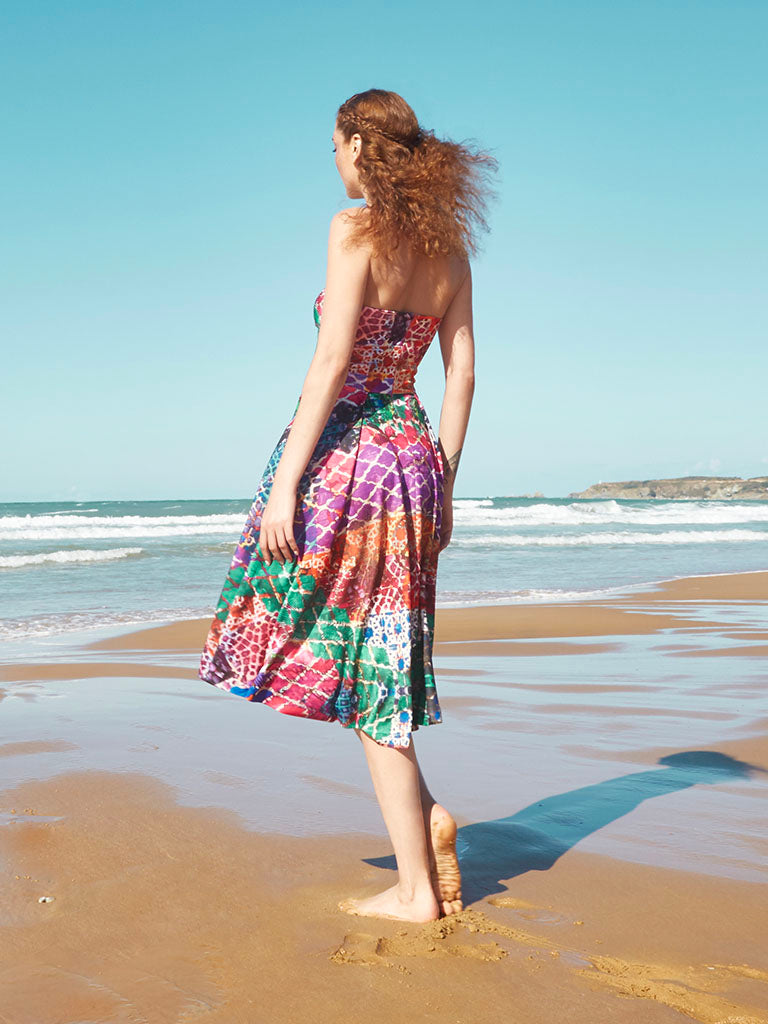 Grenada Strapless Dress - Jingle Jangle