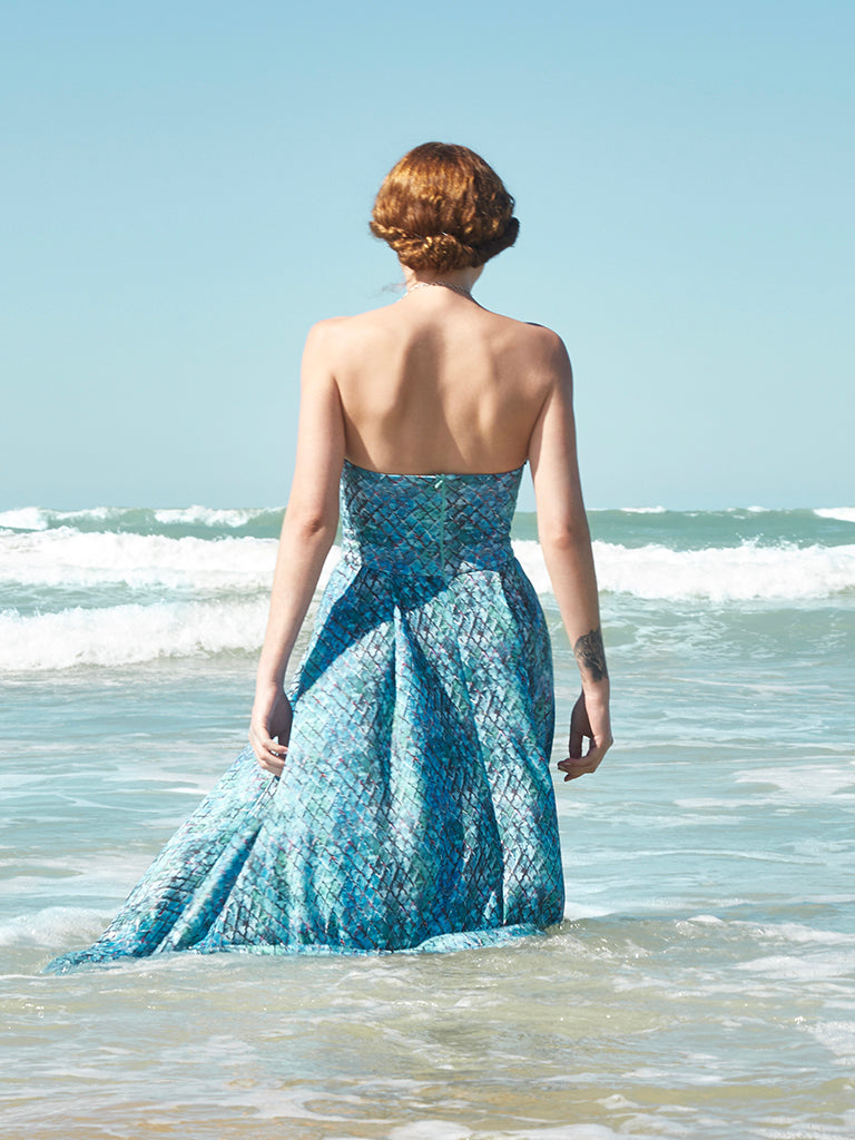 Sandy Island Strapless Dress - Jingle Jangle