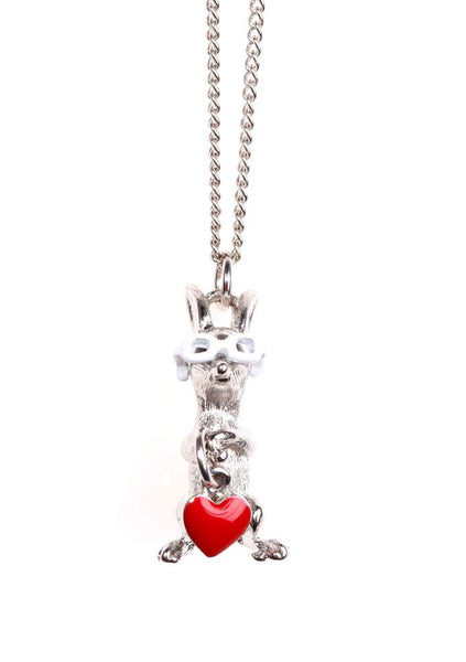 Rabbit with Glasses Necklace, was £12