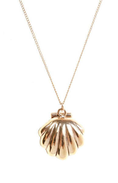 Opening Clam Necklace, was £18