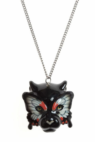 Panther with Butterfly Mask Necklace, was £27