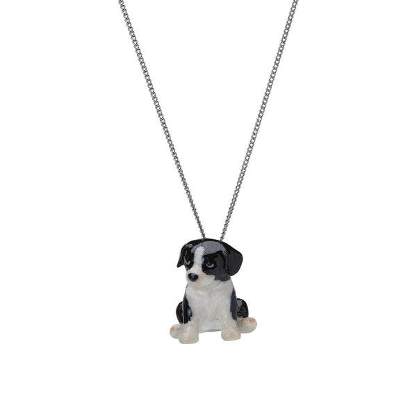 Flower the Border Collie Puppy Necklace, was £30.00
