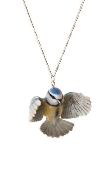 Perfectly Imperfect Blue Tit Necklace Was £35