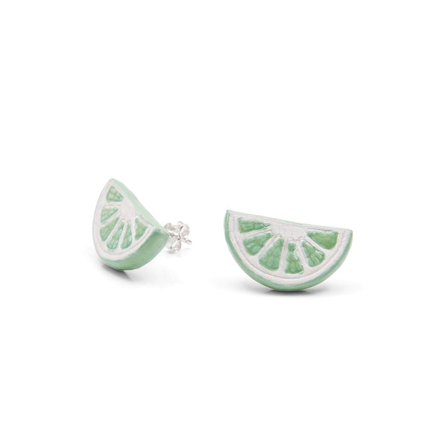 Lime Slice Earrings, was £30