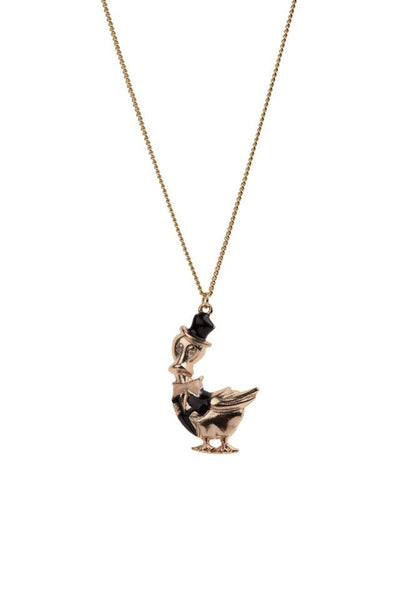 Enamel Duck Necklace, was £12