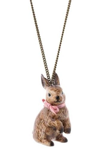 Brown Rabbit Necklace was £32