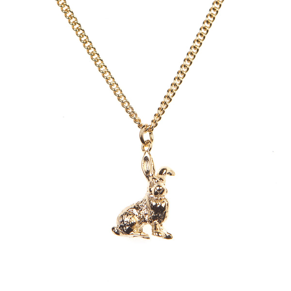 Sitting Hare Necklace, was £12