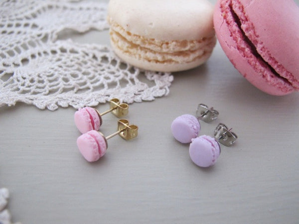 Macaroon Earrings, was £12
