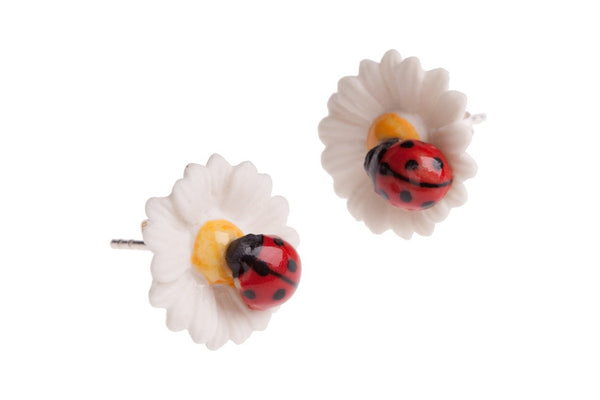 Perfectly Imperfect Daisy Earrings Was £35