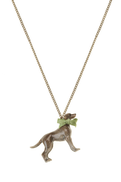Weimaraner Necklace, was £30
