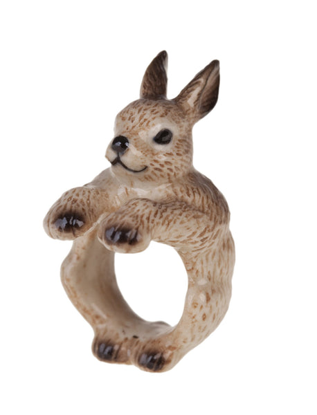 Brown Rabbit Ring, Was £35