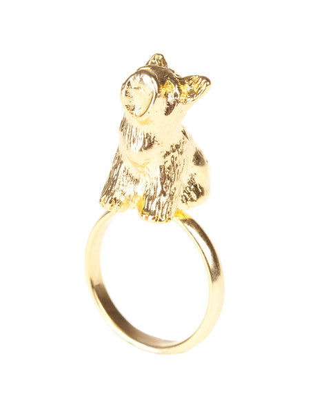 Scottie Dog Sitting Ring, was £15