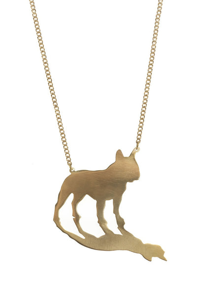 Shadow Bulldog Necklace, was £24