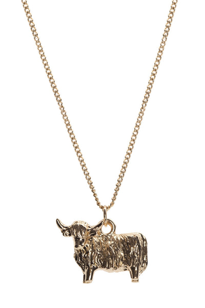 Highland Cow Necklace, was £12