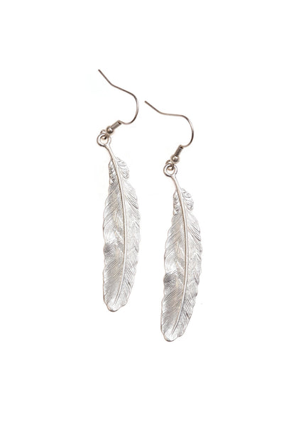 Feather Earrings Was £12