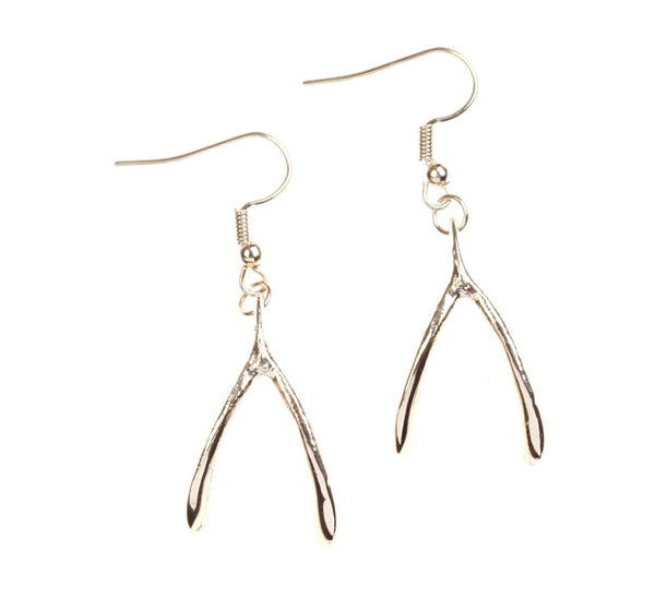And Mary Wishbone Earrings Was £12