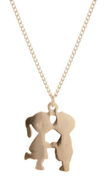 Kissing Kids Necklace, was £12