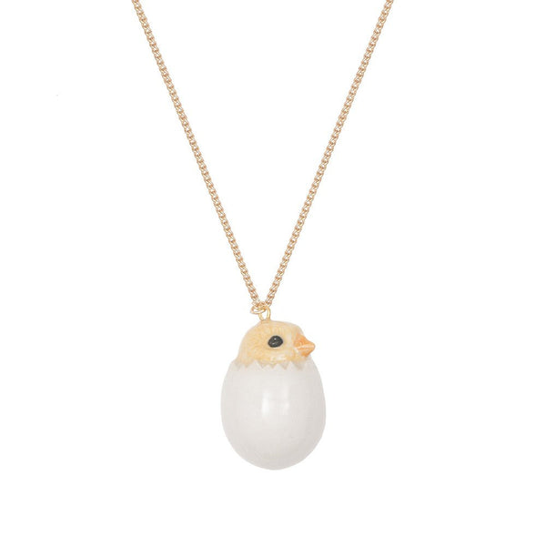 Chick and Egg Necklace, was £27