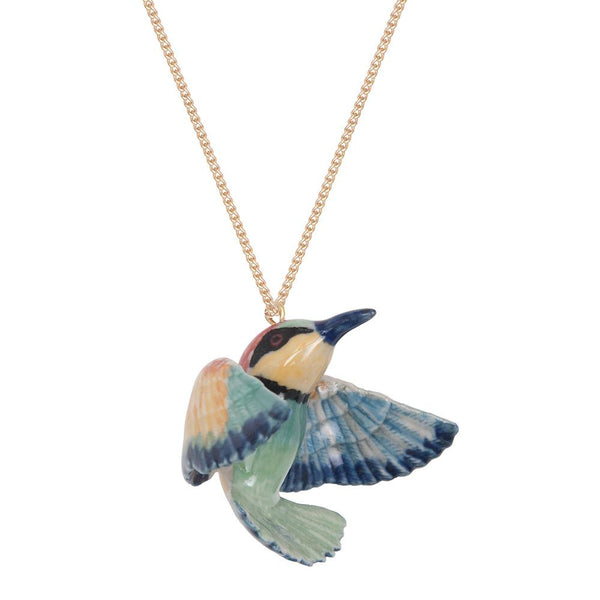 Perfectly Imperfect Bright Bee Eater Necklace - Was £35