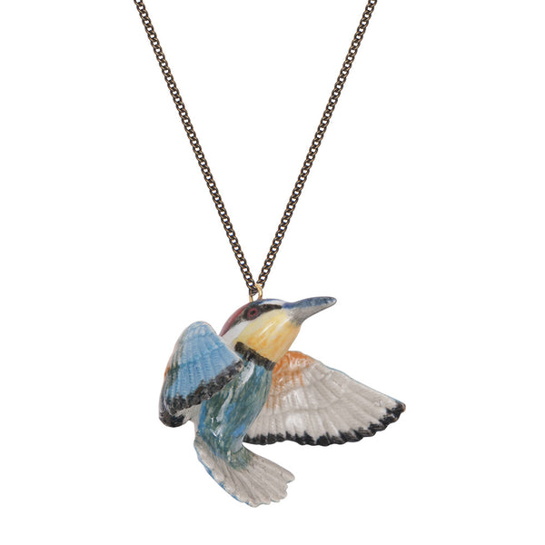 Natural Bee Eater Necklace, was £35.00