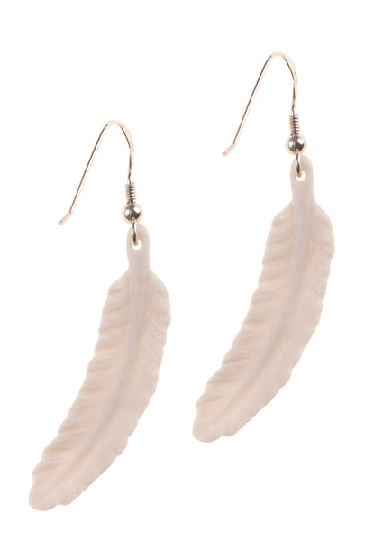 White Feather Earrings, was £30