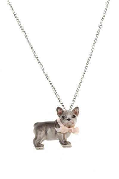 Baby Frenchie Necklace, was £32.00