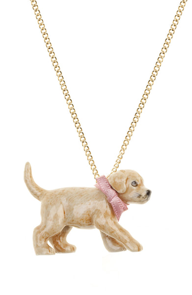 Golden Labrador Necklace, was £24
