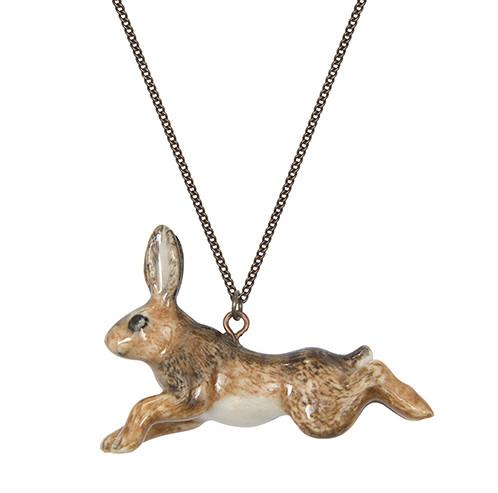 Running Hare Necklace, was £30