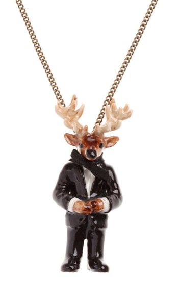 Mr Stag Necklace Was £35