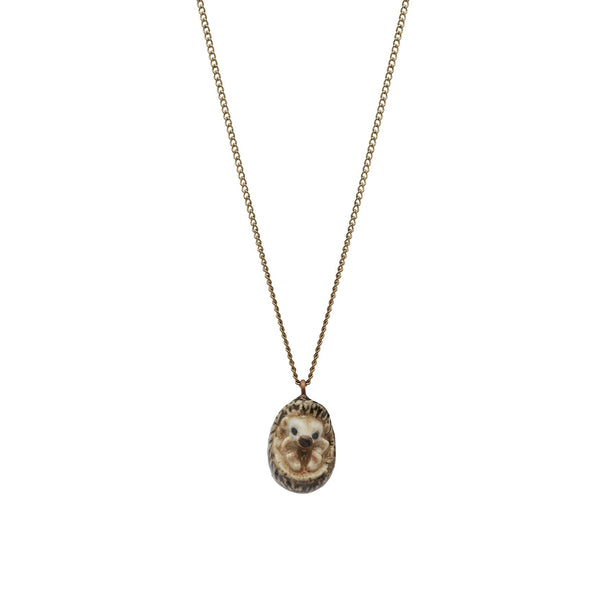 Perfectly Imperfect Tiny Hedgehog Necklace Was £25