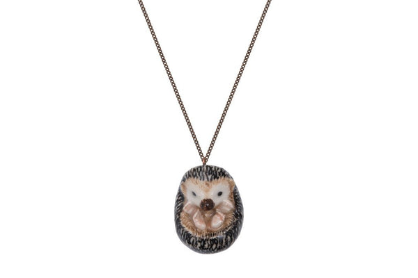 Perfectly Imperfect Hedgehog Necklace Was £30