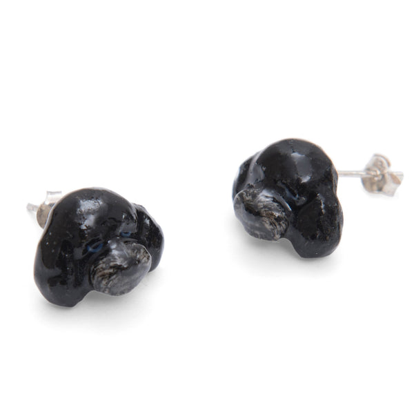 Black Poodle Earrings, Was £35