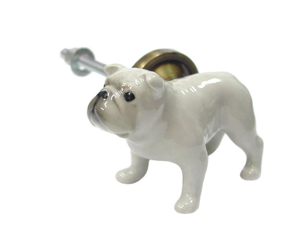 Bulldog Body Doorknob, Was £20