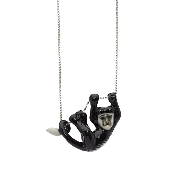 Colobus Monkey Necklace Was £38