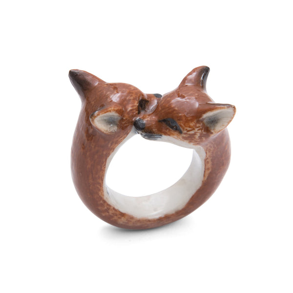 Perfectly Imperfect Fox Cubs Ring, was £40