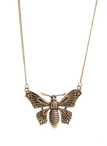 Antique Butterfly Necklace, was £15