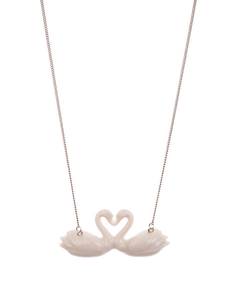 Kissing Swans Necklace, was £35