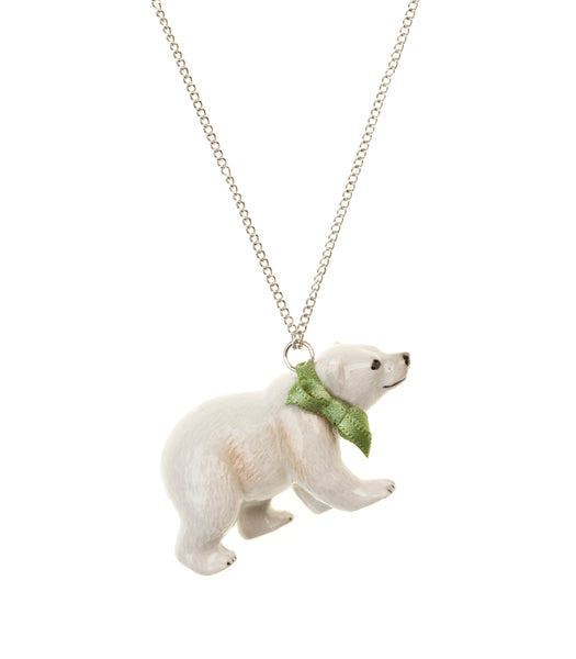 Large Polar Bear Necklace was £35