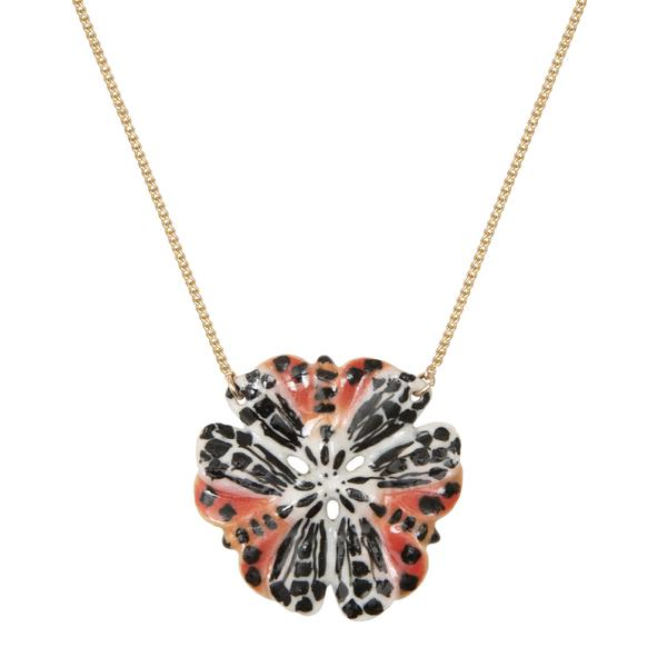 Tiger Moth Flower Necklace - was £30