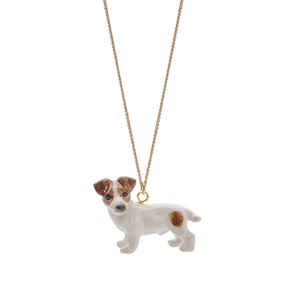 Perfectly Imperfect Jack Russell Necklace Was £30
