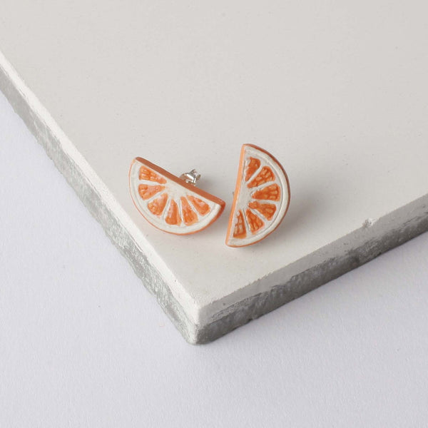 Orange Slice Earrings, was £30