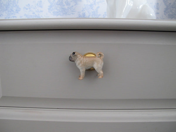 Pug Body Doorknob, Was £20