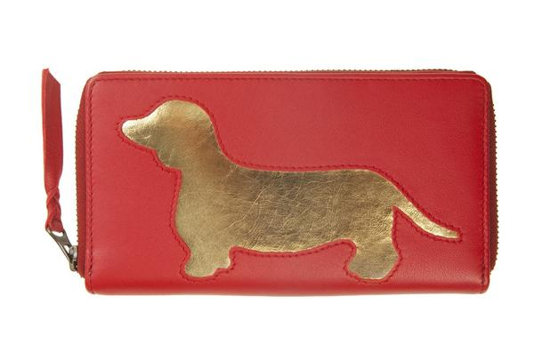 Red Dachshund Cut Out Purse, was £50