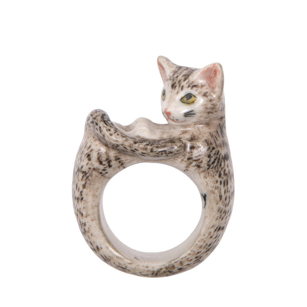 Perfectly Imperfect Tabby Cat Ring Was £35