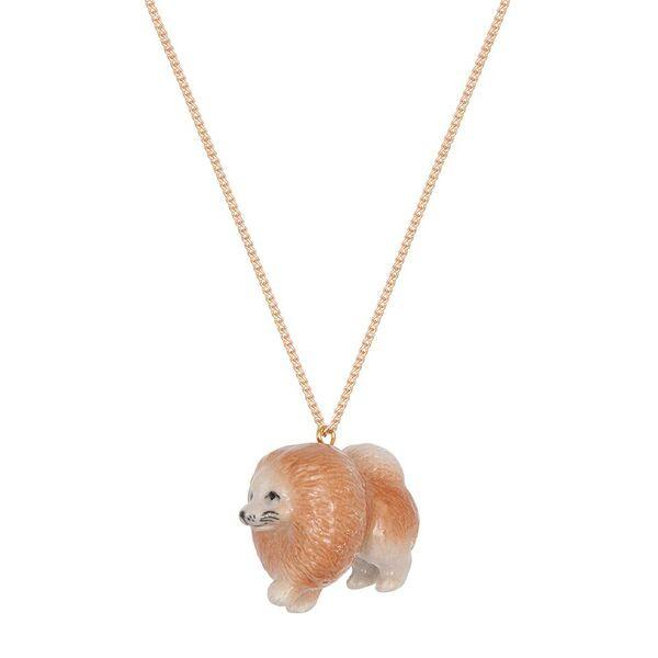 Pablo The Pomeranian Necklace, was £30.00